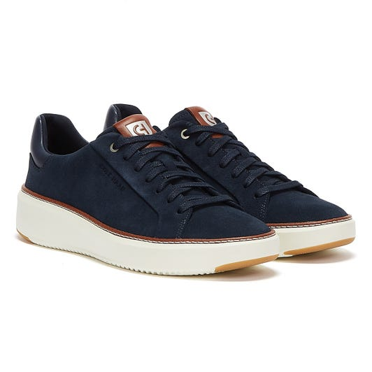 Cole Haan GrandPrø Topspin Mens Navy Ink Trainers