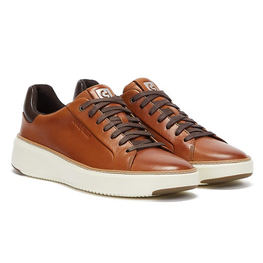 Cole Haan GrandPrø Topspin Mens Tan Trainers