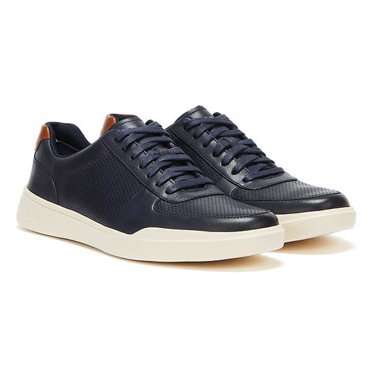 Cole Haan Grand Crosscourt Modern Perf Mens PEACOAT Trainers