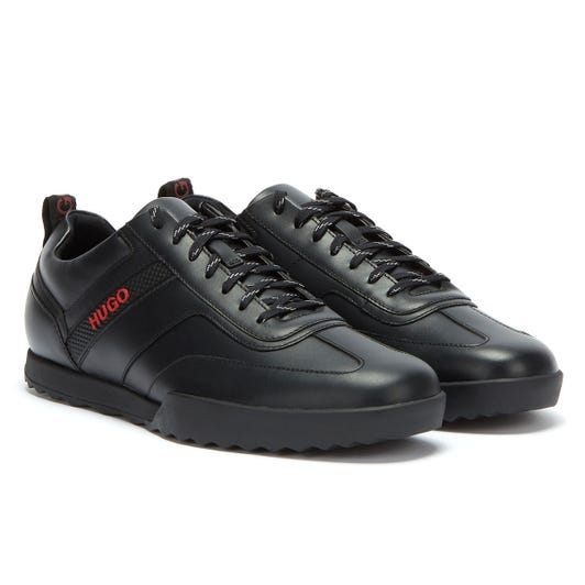 HUGO Matrix Low Mens Black Trainers