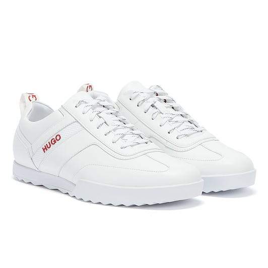 HUGO Matrix Low Mens White Trainers