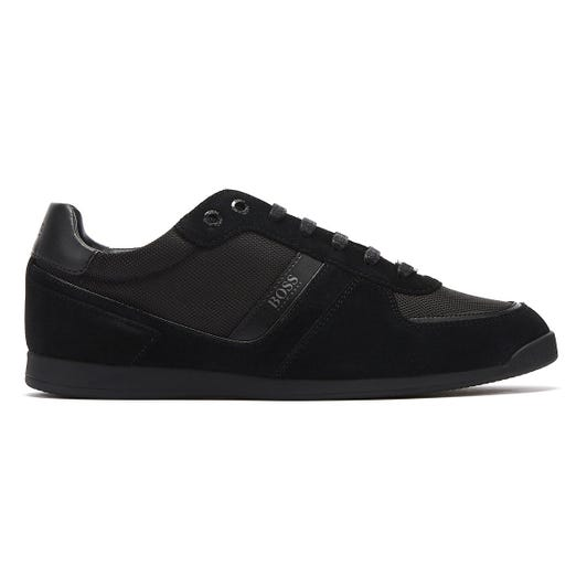 Hugo Boss Glaze Mix Low Mens Black Trainers
