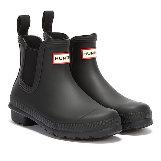 Hunter Original Chelsea Womens Black Wellies