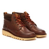 Kickers Kick Hi Winter Oily Mens Brown Boots