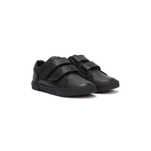 Kickers Tovni Twin Flex Toddlers Black Shoes