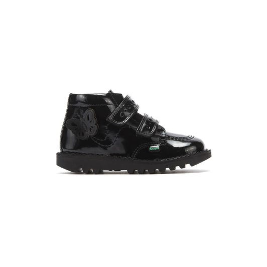 Kickers Kick Flutter Toddler Patent Leather Boots