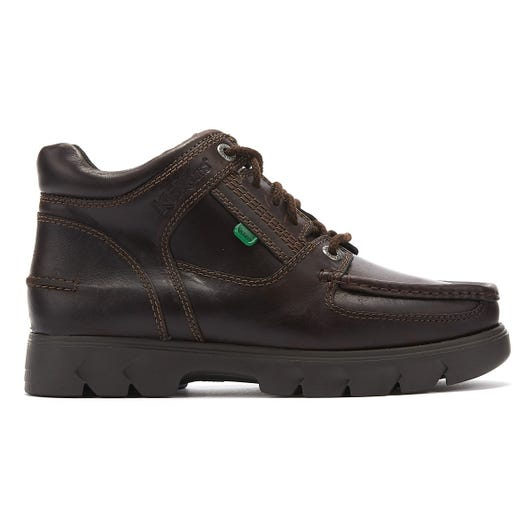 Kickers Lennon Mid Mens Brown Leather Boots