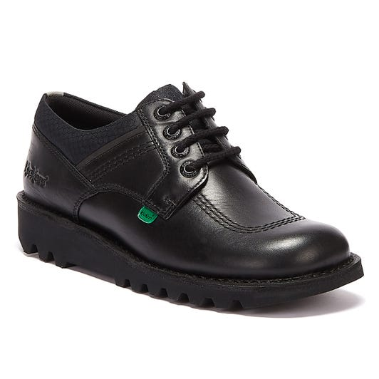 Kickers Kick Lo Flex Mens Black Shoes