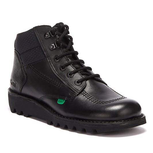 Kickers Kick Hi Flex Mens Black Boots