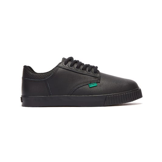 KIckers Tovni Y Flex Youth Black Trainers
