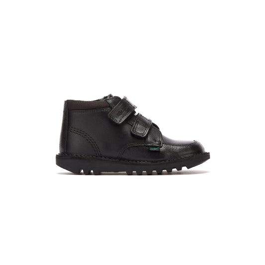 Kickers Scuff Hi Infants Black Boots