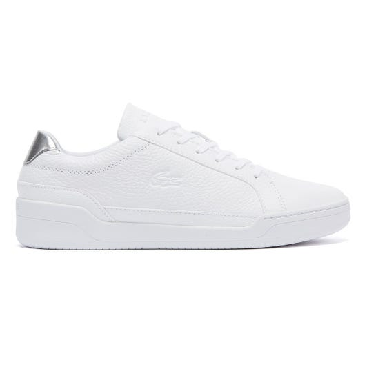 Lacoste Challenge 120 4 Womens White / Silver Trainers