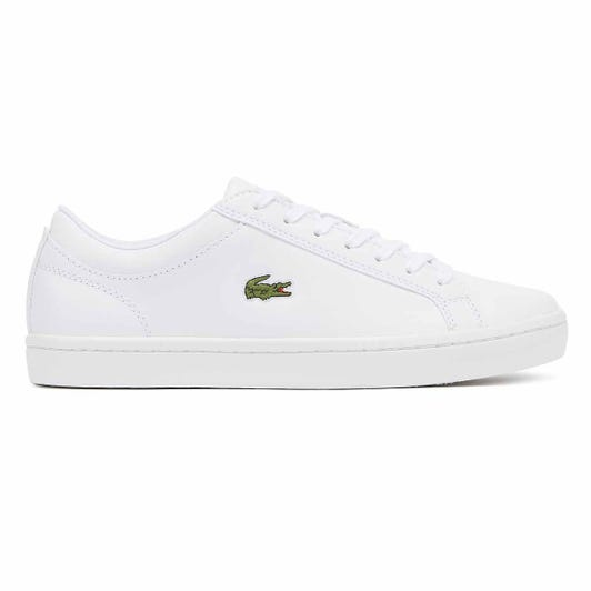 Lacoste Straightset BL 1 Mens White Trainers