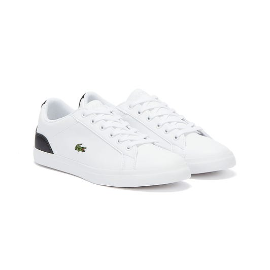 Lacoste Lerond 120 1 Junior White / Black Trainers