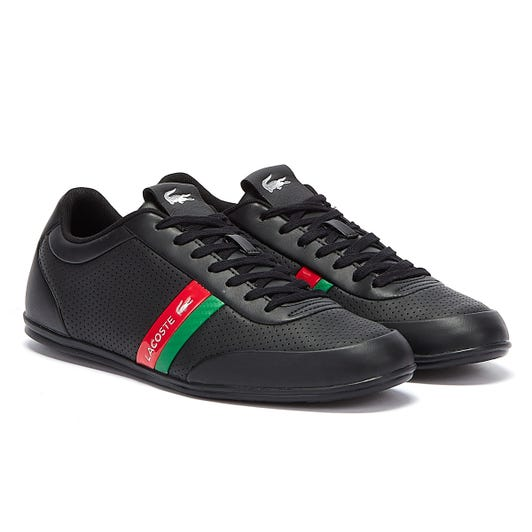 Lacoste Storda 120 1 Mens Black / Green Trainers