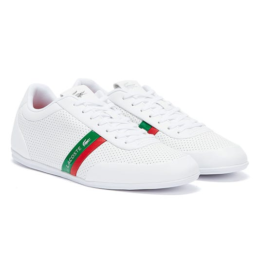 Lacoste Storda 120 1 Mens White / Green Trainers