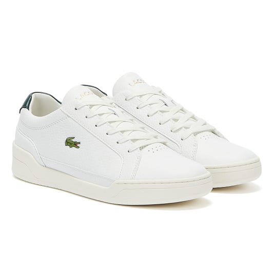 Lacoste Challenge 120 1 Mens White / Green Trainers