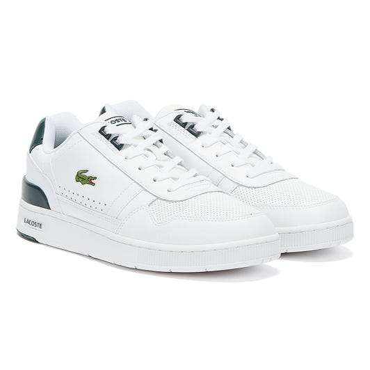 Lacoste T-Clip 120 4 Mens White / Green Trainers