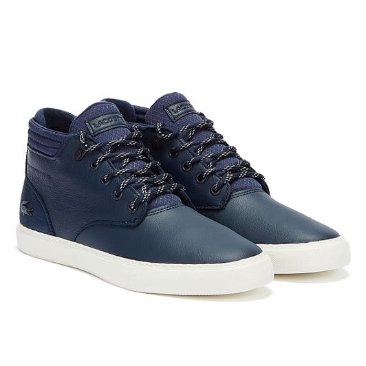 Lacoste Esparre Chukka 320 1 Mens Navy / White Trainers