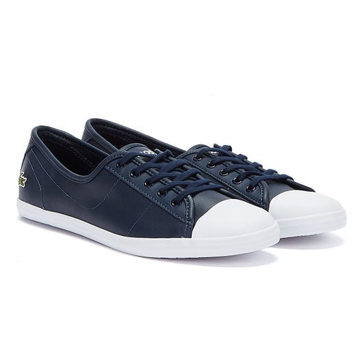 Lacoste Ziane BL 1 CFA Navy Trainers