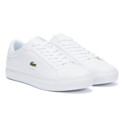 Lacoste Powercourt 721 2 Womens White / White Trainers
