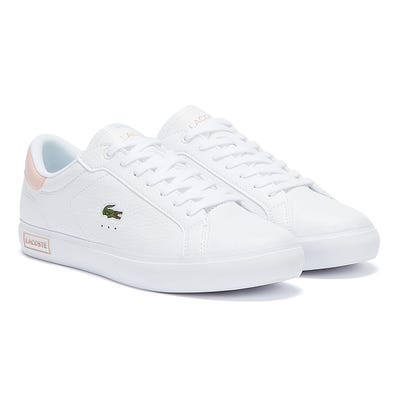 Lacoste Powercourt 721 2 Womens White / Pink Trainers