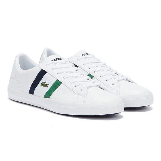 Lacoste Lerond 119 3 Mens White / Navy Trainers