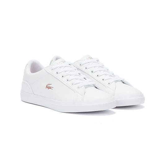 Lacoste Lerond 921 1 Junior White / Light Pink Trainers