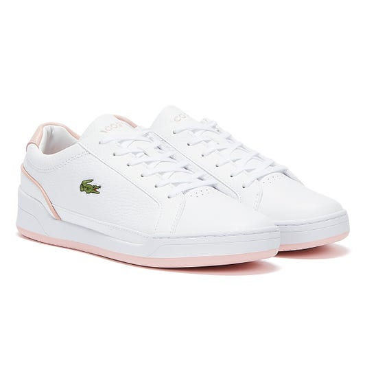 Lacoste Challenge 721 1 Womens White / Light Pink Trainers