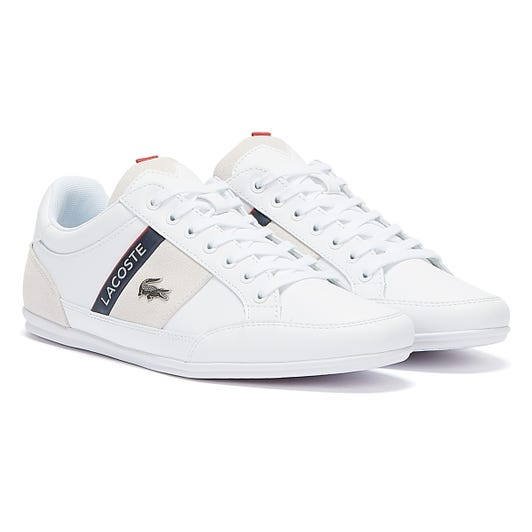 Lacoste Chaymon 721 2 Mens White / Navy Trainers