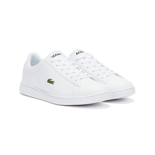Lacoste Carnaby Evo 119 7 Junior White Trainers