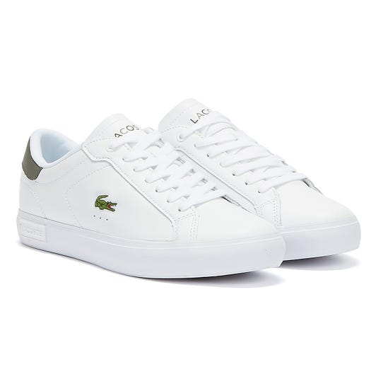 Lacoste Powercourt Mens White Trainers