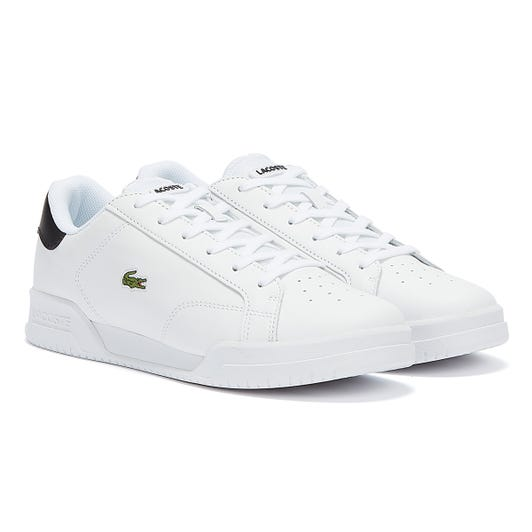 Lacoste Twin Serve Womens White / Black Trainers