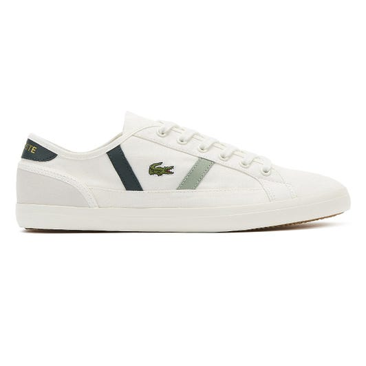 Lacoste Sideline 319 2 Womens Off White / Dark Green Trainers