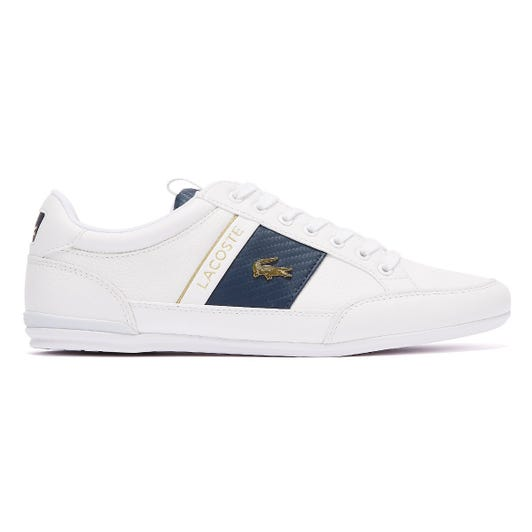 Lacoste Chaymon 120 1 Mens White / Navy Trainers
