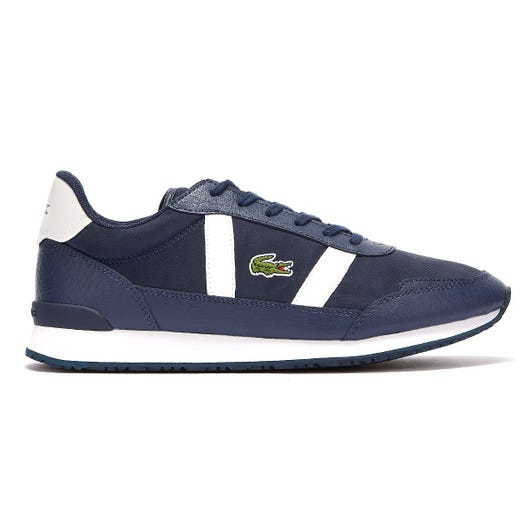 Lacoste Partner 120 1 Mens Navy / White Trainers
