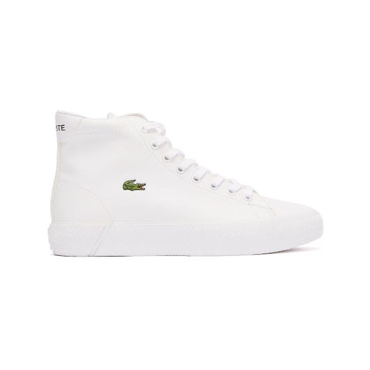 Lacoste Gripshot Mid 120 2 Junior White Trainers