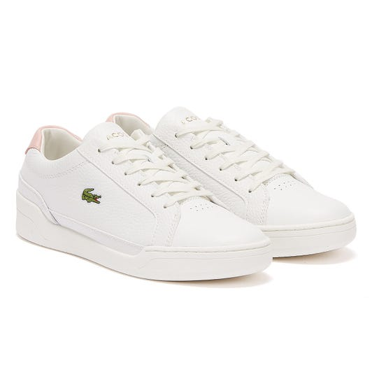 Lacoste Challenge 120 1 Womens White / Light Pink Trainers