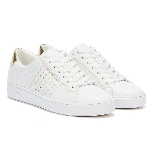Michael Kors Irving Womens White Trainers