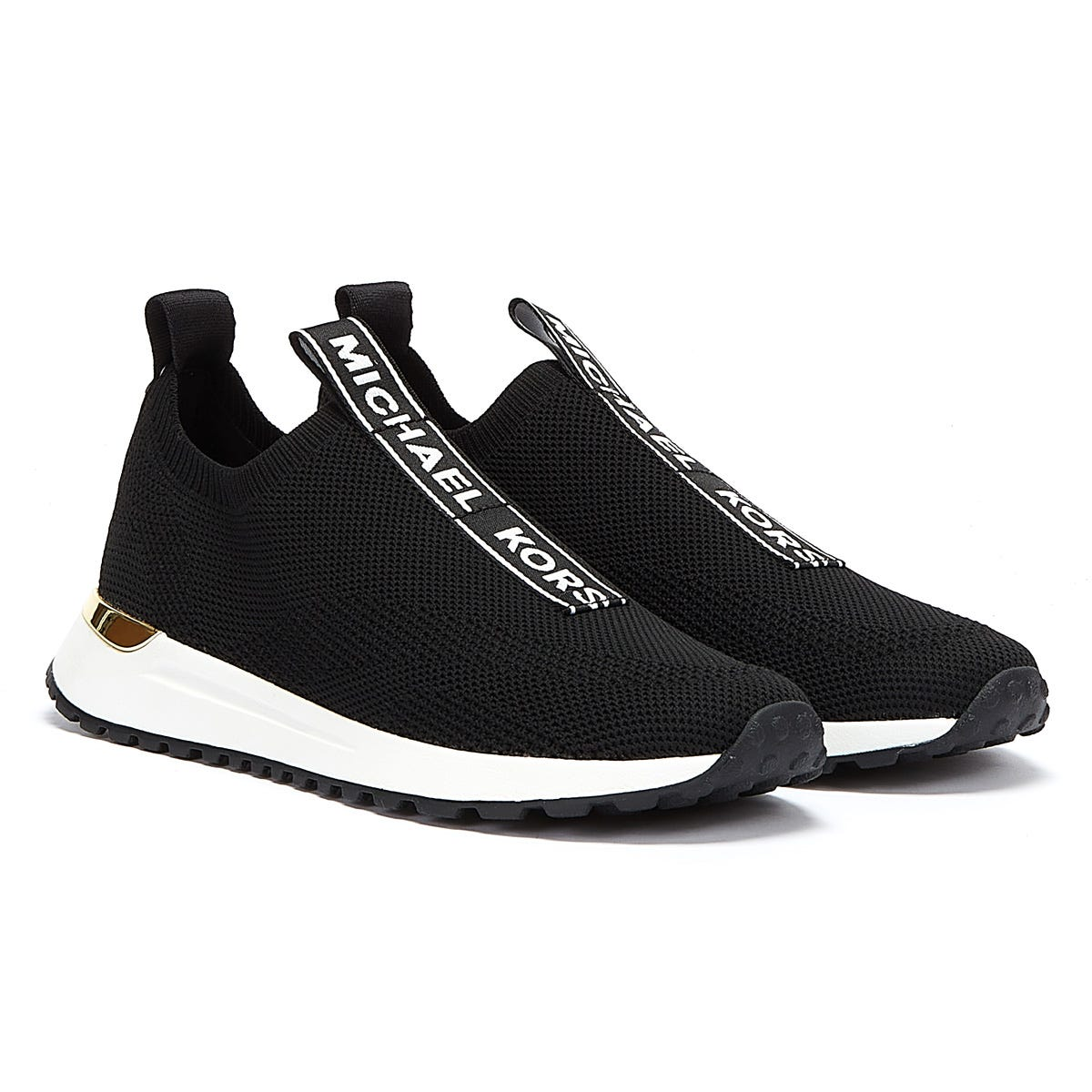 Trainers & Running Shoes Michael Kors Bodie Slip On Womens Black / White Trainers