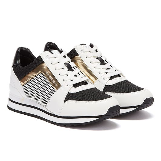 Michael Kors Billie Womens White / Black Trainers