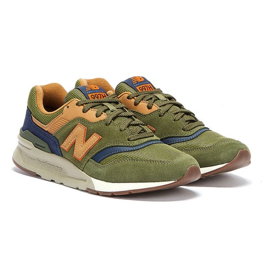 New Balance 997H Mens Dark Green Trainers