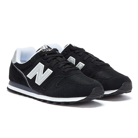 New Balance 373 Black Trainers