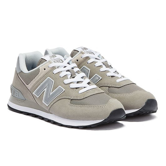 New Balance Mens Grey ML574 Trainers