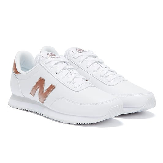 New Balance 720 Womens White / Rose Gold Trainers