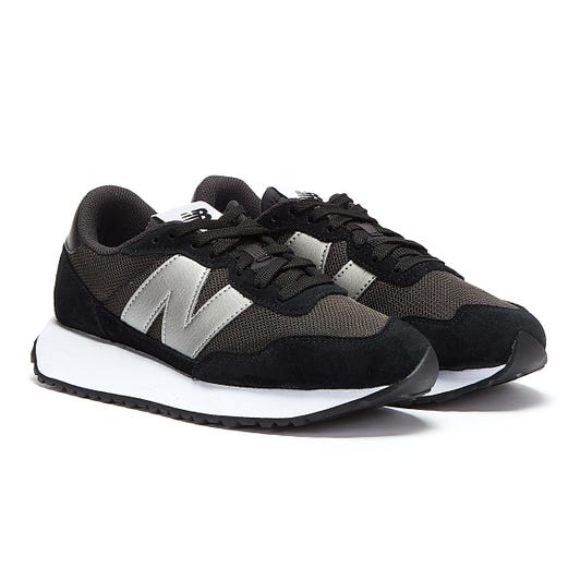 New Balance 237 Womens Black / Silver Trainers
