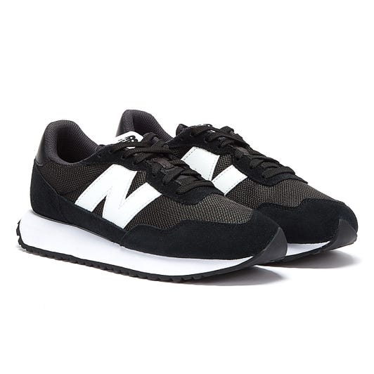 New Balance 237 Mens Black / White Trainers