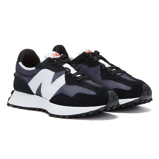 New Balance 327 Mens Black / Grey Trainers