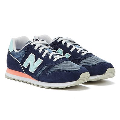 New Balance 373 Womens Blue / Pink Trainers