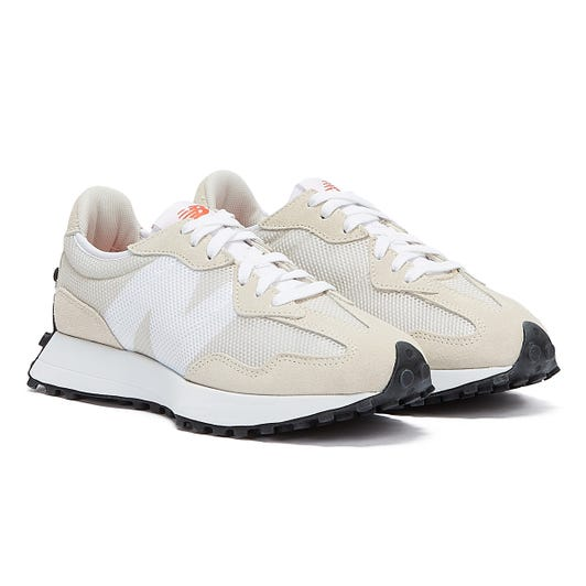 New Balance 327 Mens Off White / White Trainers